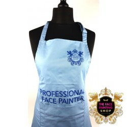 Professional Face Painter Apron - Baby Blue