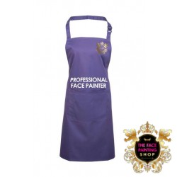 Professional Face Painter Apron - Purple