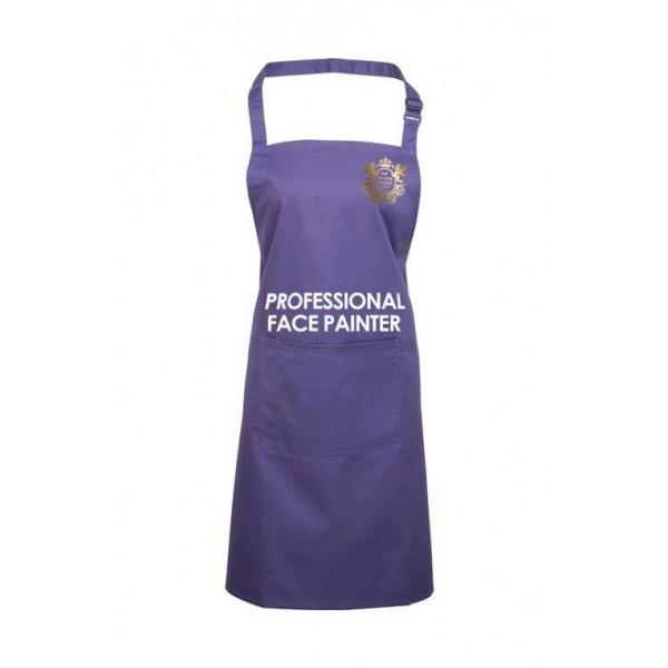 Professional Face Painter Apron - Purple
