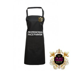 Professional Face Painter Apron - Black