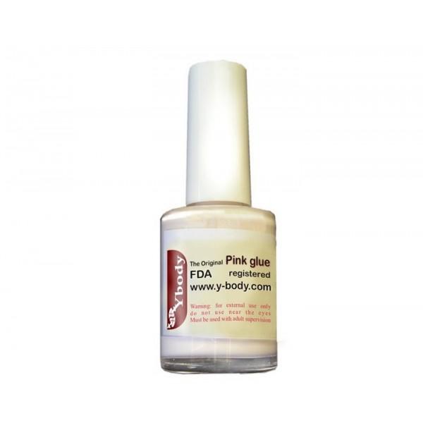 Y body pink body glue for Glitter tattoo glue