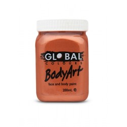 Global Body Art Liquid Metallic Copper 200ml