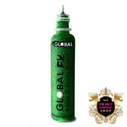 Global Colours Glitter Gel Emerald Green 36ml