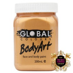 Global Body Art Liquid Gold 200ml