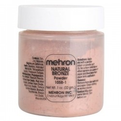 Mehron Natural Bronze Powder 1oz