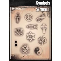 Airbrush Tattoo Pro Symbols