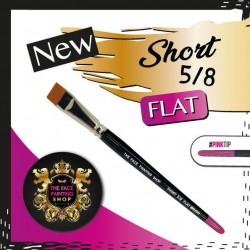 The Face Painting Shop 5/8 Short Flat Brush