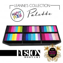 Fusion Body Art Leanne's Happy Pixie Petal Palette