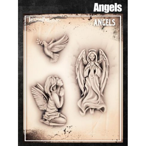 Airbrush Tattoo Pro Angels
