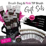 The Face Painting Shop Pink Tip Brush Set 2