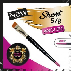 The Face Painting Shop 5/8 Short Angled Brush