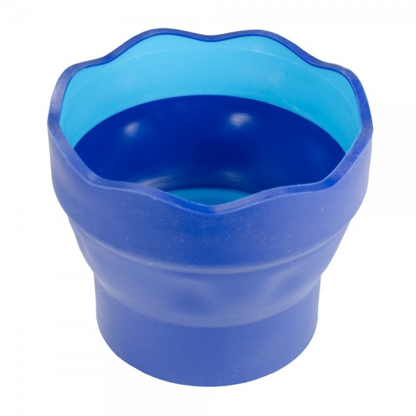 Click and Go Foldable Water Pot Blue