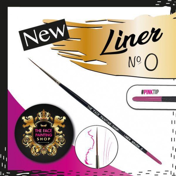 The Face Painting Shop Liner 0 Brush
