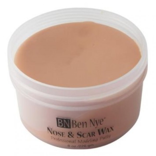 Ben Nye Nose and Scar Wax  Light Brown  2.5oz