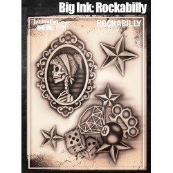 Airbrush Tattoo Pro BIG Rockabilly