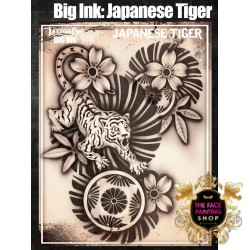 Airbrush Tattoo Pro BIG Japanese Tiger