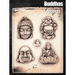 Airbrush Tattoo Pro Buddah