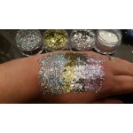 Chunky Glitter Pure Silver