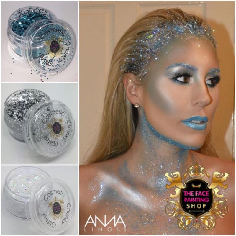 Chunky Glitter Aqua 50g