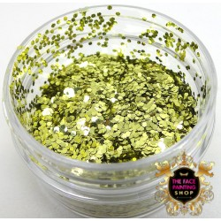 Chunky Glitter Pure Gold