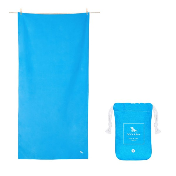 Dock and Bay Small Blue Classic Towel