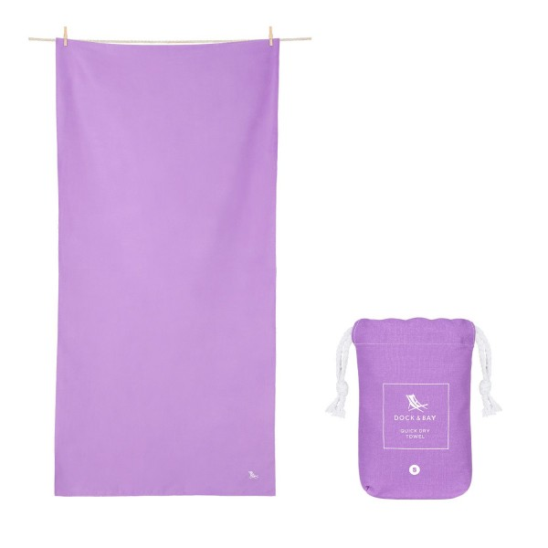 Dock and Bay Small Purple Classic Towel