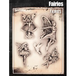 Airbrush Tattoo Pro Fairies