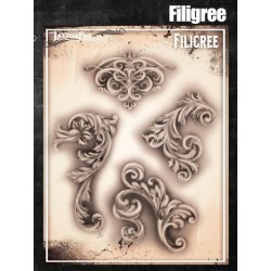 Airbrush Tattoo Pro Fancy Filigree