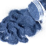 G Body Art Glitter Indigo Blue