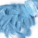 G Body Art Glitter Sky Blue