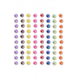 Pack of Coloured Pearls 6mm