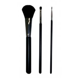 Glimmer Body Art Brush Set