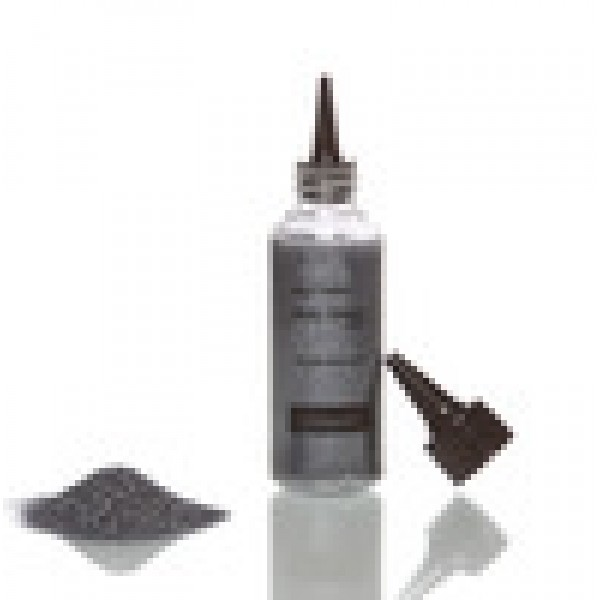Glimmer Glitter 42g Bottle - Gun Metal