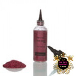 Glimmer Glitter 42g Bottle - Cherry Red