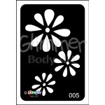 005 Cascading Flower Pack Of 5