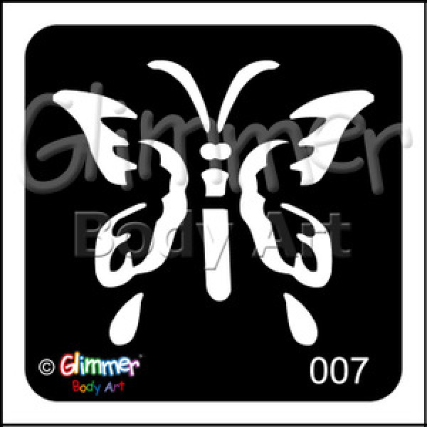 007 Spring Butterfly Pack Of 5