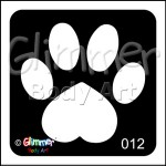 012 Heart Paw Pack Of 5