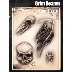 Airbrush Tattoo Pro Grim Reaper