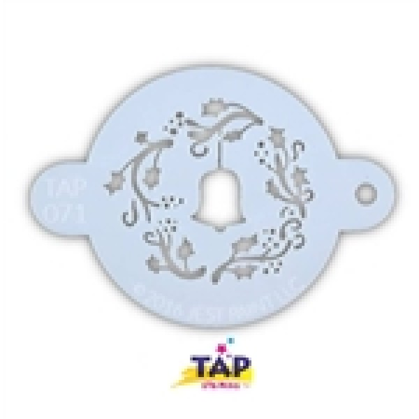 TAP 071 Christmas Wreath with Bell