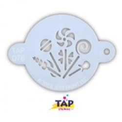 TAP Stencil 078 Candy Party