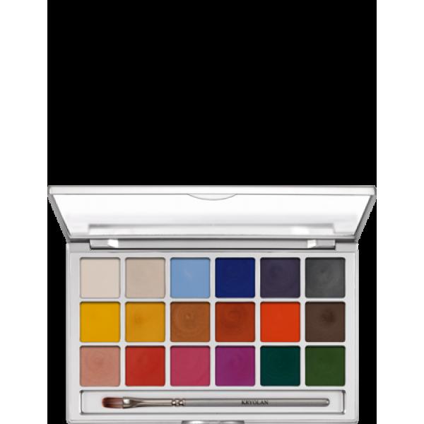 Kryolan Shimmering Vision Palette