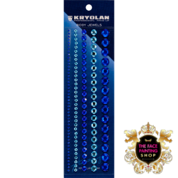 Kryolan Body Jewels Blue