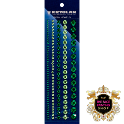 Kryolan Body Jewels Green