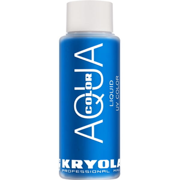 Kryolan Aqua Color Liquid UV Blue