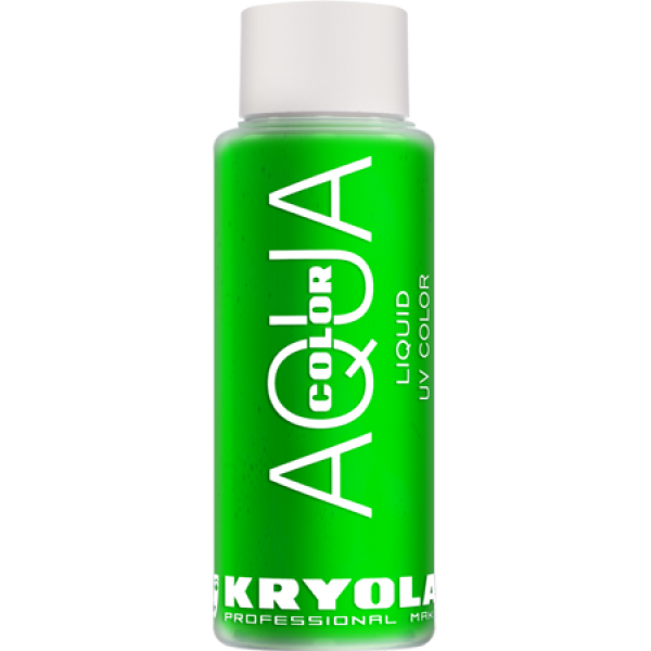Kryolan Aqua Color Liquid UV Green