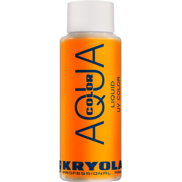 Kryolan Aqua Color Liquid UV Orange