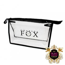 Charles Fox Clear Zip Bag Large