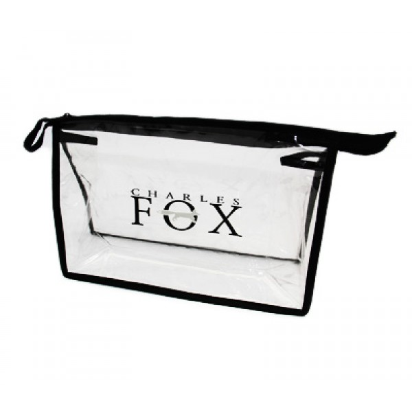 Charles Fox Clear Zip Bag Large