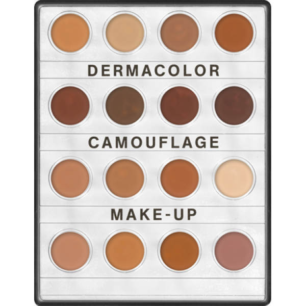 Derma Colour Mini Palette Dark