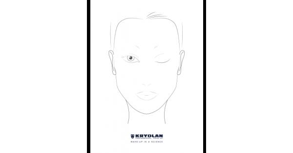 Kryolan Professional Make Up Charts